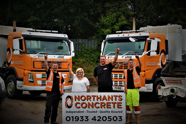 Northants Concrete Staff Northamptonshire